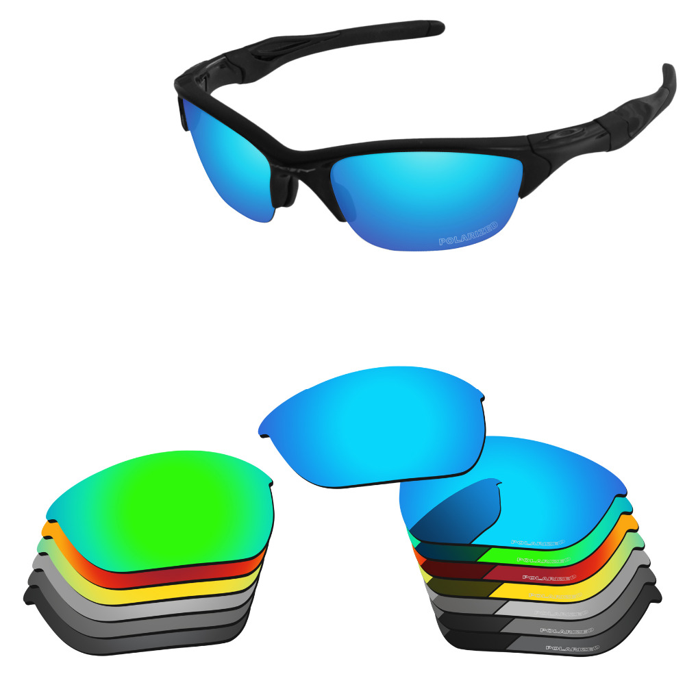 PapaViva Polycarbonate POLARIZED Replacement Lenses for  Authentic Half Jacket 2.0 Sunglasses - Multiple Options