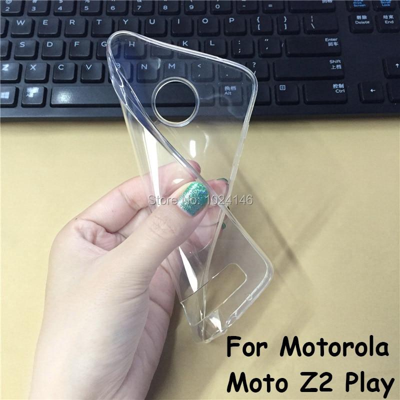 Новый тонкий кристалл прозрачный, мягкий чехол защиты кожи Камера защитную крышку для Motorola Moto Z2 играть 5.5 дюймов