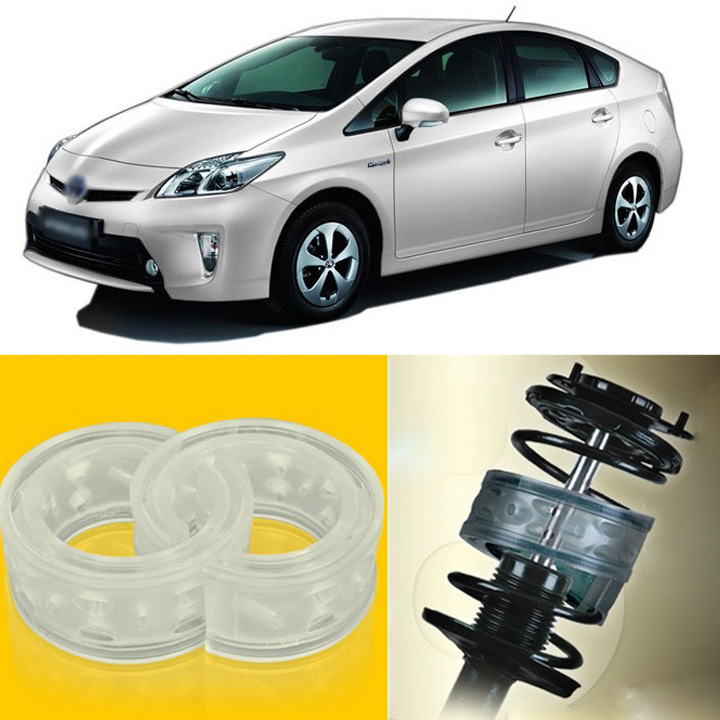 2pcs Power Front /Rear Shock Suspension Cushion Buffer Spring Bumper For Toyota Prius  high quality front rear car auto shock absorber spring bumper power cushion buffer for honda cr v