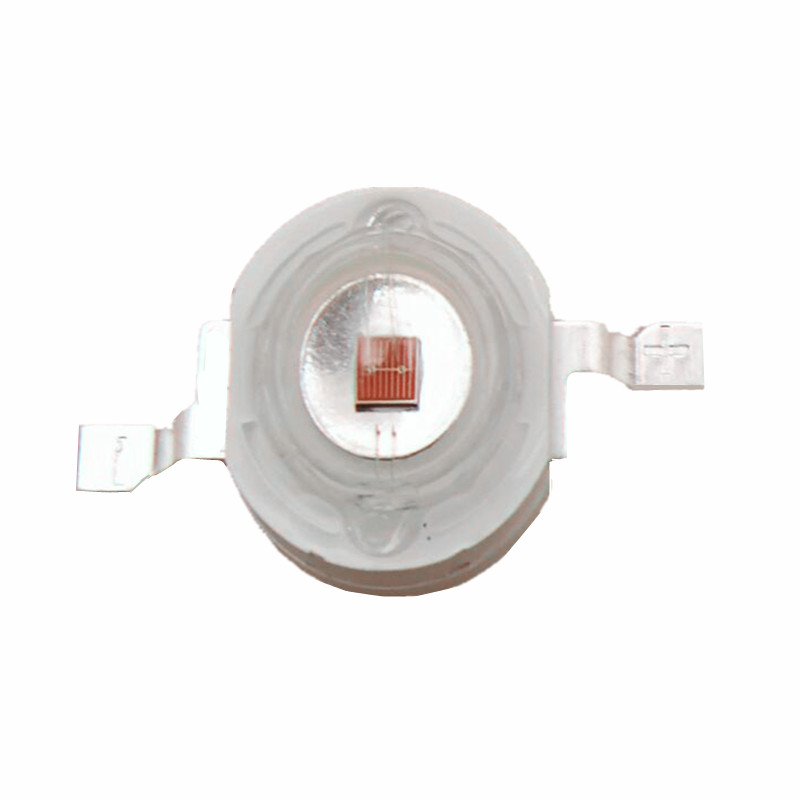 3W LED Chip Red 660nm High Power LED Bead Lamp 700mA 2.2-2.4V 30-40LM  42mil Plant Growing Light  Chips Free Shipping 100pcs