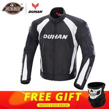 DUHAN Autumn Winter Motorcycle Jacket Men Protective Gear Moto Jacket Windproof Cold proof Touring Motorbike Riding