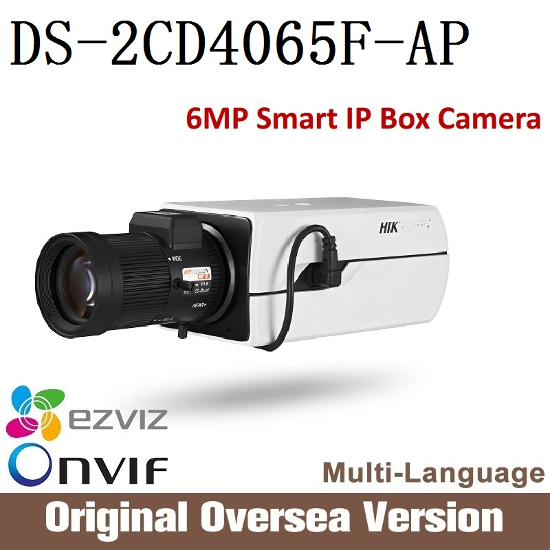 HIKVISION  DS-2CD4065F-AP 6MP IP Camera Full HD resolution ONVIF CCTV security DC12V/AC24V/PoE 128GB storage Support upgrade лобзик союз лбс 4065