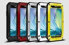 Amo Mei Caso À Prova D Água Para Samsung Galaxy A3 2015 A300 Rígido de Alumínio À Prova de Choque Para Samsung A3 2015/A300F Casos Tampa do telefone