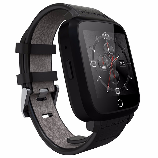 Leegoal 2g 3g network Smartwatch With Sim Card Bluetooth heart rate detect connectivity Android smartPhone Remote Control music