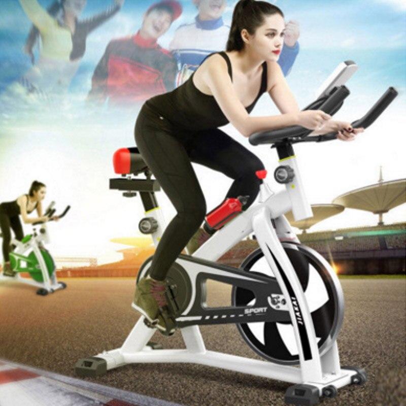 Vélo d'exercice intérieur ultra-silencieux 250kg charge vélo intérieur équipement de sport vélo à pédales