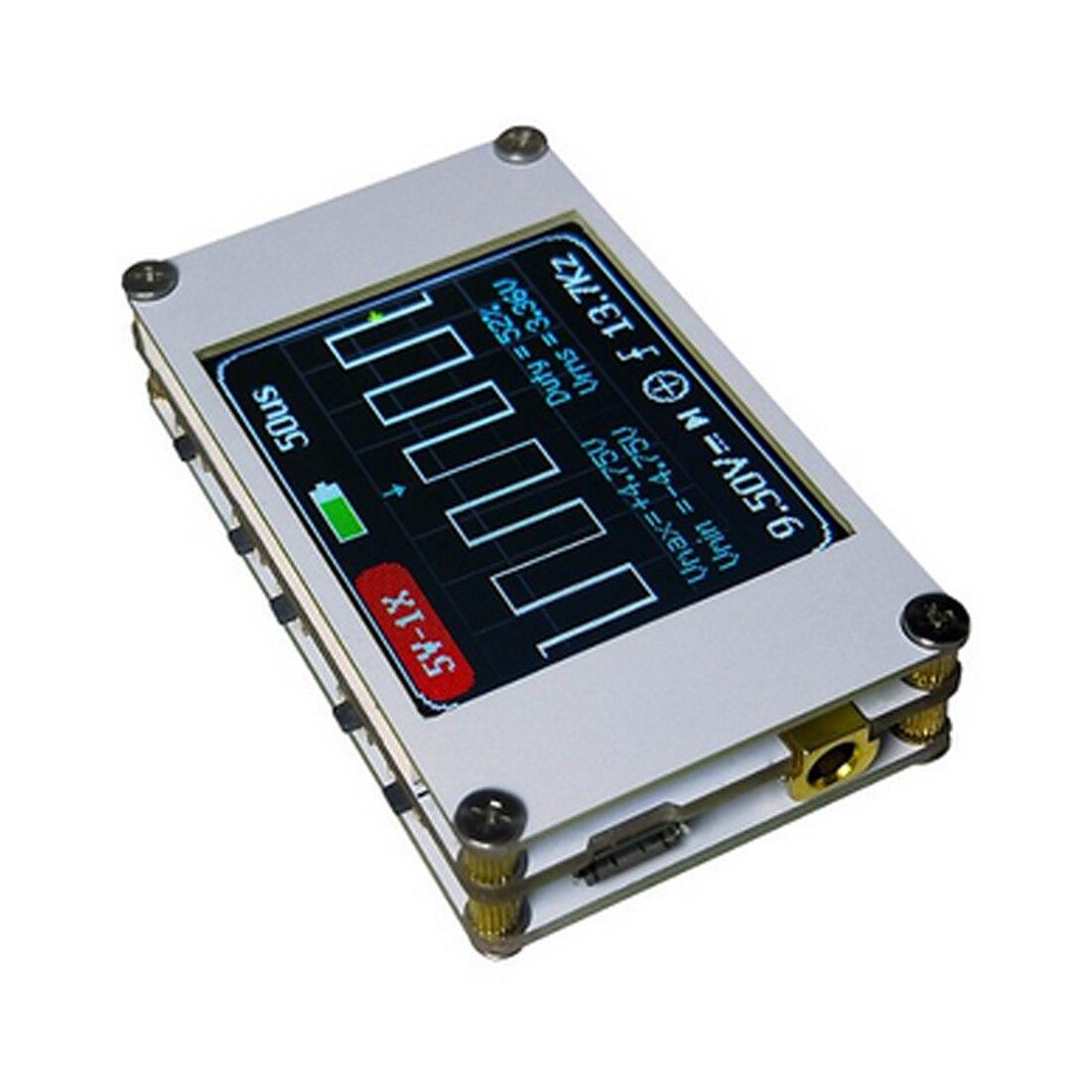 цена на 1M Bandwidth 5M Sample Rate Digital Oscilloscope Kit Mini Pocket Portable Ultra-small Digital Oscilloscope Handheld