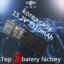 Original genius 15.2V 53Wh 3510mAh AP13B8K Battery For Acer Aspire V5 M5-583P V5-572P V5-572G Notebook 4ICP6/60/78 Bateria akku