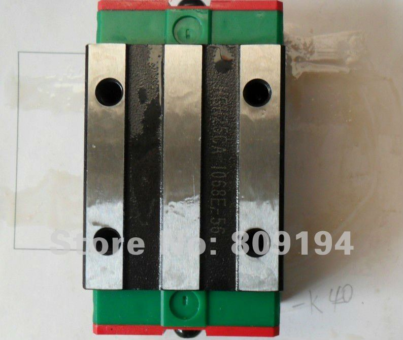 100% genuine HIWIN linear guide HGH25H block for Taiwan hiwin 100