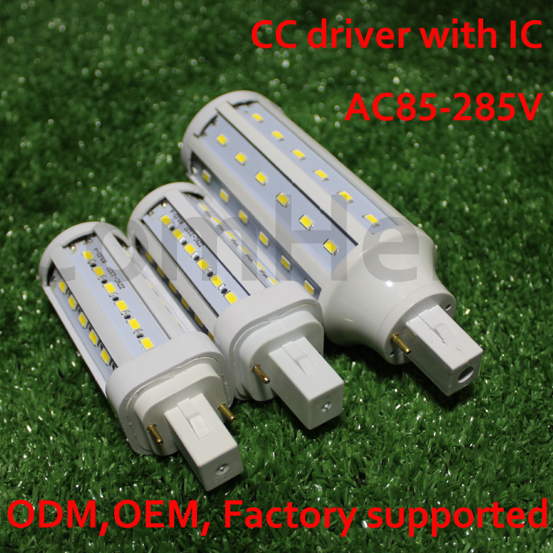 G24d-1 G24d-2 G24d-3 G24 Led Light 5W 7W 9W Lampara Bombillas PL SMD 5730LED Light AC110V/220V 85-265Vlampenstar