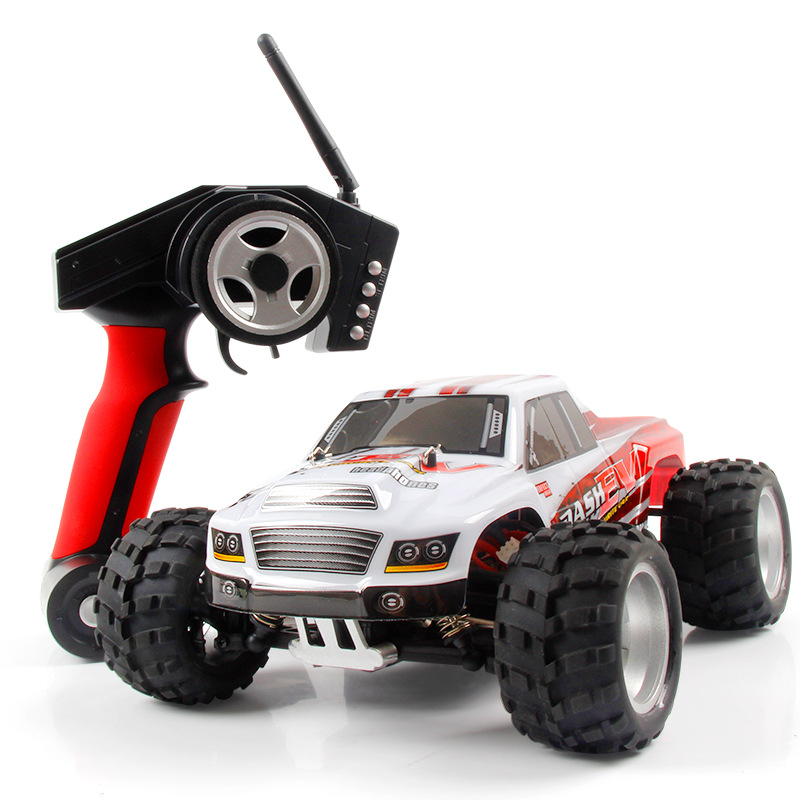 WLtoys A979-b upgraded version of high speed 70km/h remote control car full scale off-road 4WD Monster Truck 1:18 2.4G top high speed full teeth piston