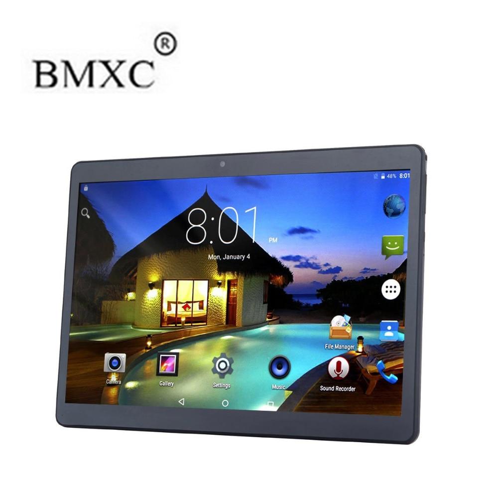 BMXC 10.1 inch Octa Core 4G LTE Tablet Android 6.0 RAM 2GB ROM 32GB 5.0MP Dual SIM Card Bluetooth GPS WIFI  10 inch 1280*800 pc created x8s 8 ips octa core android 4 4 3g tablet pc w 1gb ram 16gb rom dual sim uk plug