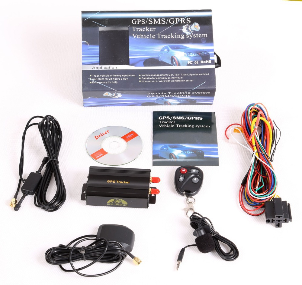 Vehicle Car GPS Tracker 103B with Remote Control GSM Alarm SD Card Slot Anti theft car vehicle car gps tracker 103b with remote control gsm alarm sd card Wiring Harness Diagram at mifinder.co