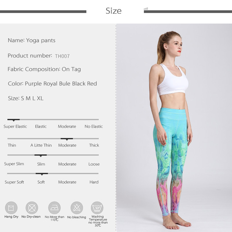 HTB1bISwOwDqK1RjSZSyq6yxEVXam - Fast Dry Women Yoga Pants Workout Print Gym Leggings Running Fitness Training Elastic Sexy Long Tights Trousers for Dancing