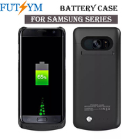 Luxury 4200mah Ultra Thin Battery Charger Case for Samsung Galaxy S7 Power Bank Case Shockproof Pefect Fit Camera Protect Coque