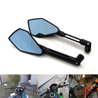 Rearview Mirrors For Honda Grom MSX CB 500F 1000R 1100 NC 700 750S VTR400S CNC Aluminum Mirror Motorcycle Scooter Accessories