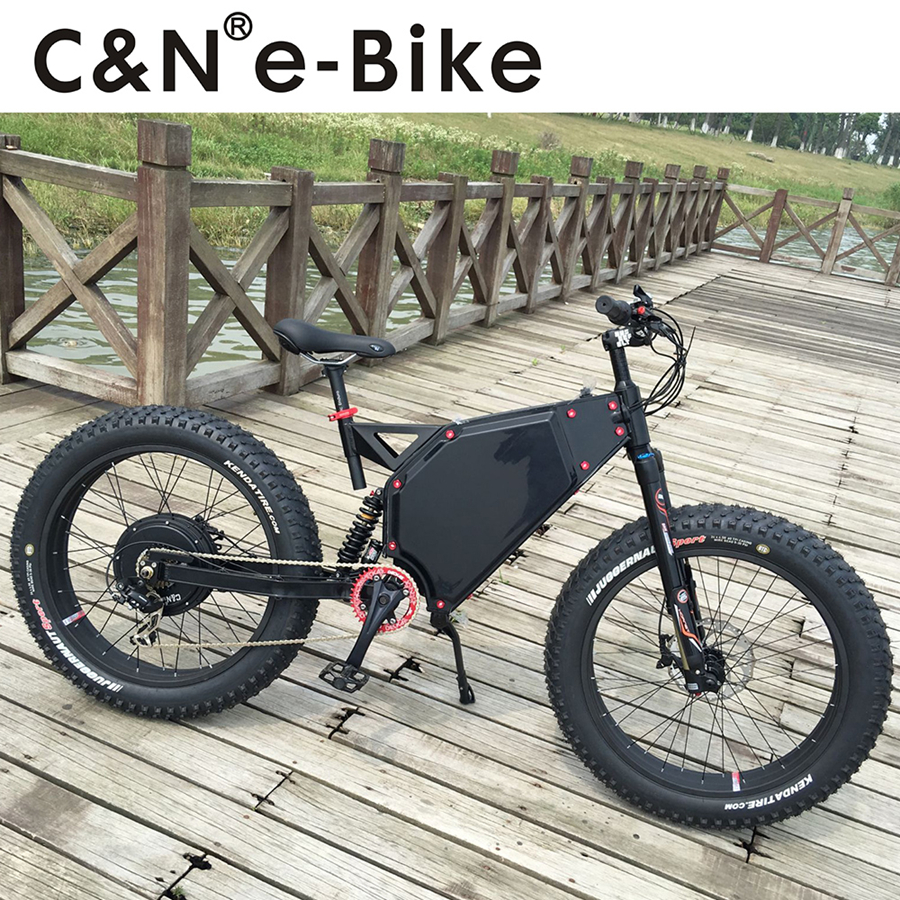 Newest 72v 3000W Snow fat E bike Electric Mountain Bike Electric Bike Electric bicycle Enduro ebike