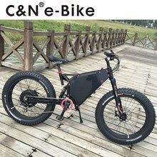 Newest 72v 3000W Snow fat E-bike Electric Mountain Bike/Electric Bike/Electric bicycle/Enduro ebike