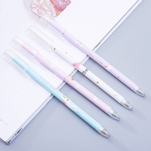 1Pcs Unicorn Press Automatic Mechanical Pencil Writing Pencil School Supply Student Stationery 0.5mm germany staedtler 925 mechanical pencil animation graphics mechanical pencil 0 3 0 5 0 7 0 9 mm 1pcs
