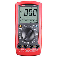 Multitester UNI T UT58A UT58B UT58C UT58D UT58E Digital Multimeter DC/AC Voltage Current Resistance Capacitance LCD Multimeter