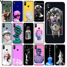 Yinuoda D'art Vintage David Statue illustration  Phone Case for xiaomi mi 6  8 se note2 3 mix2 redmi 5 5plus note 4 5 5
