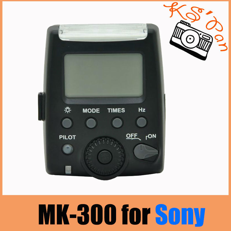 Meike MK-300 MK-300S LCD i-TTL TTL Speedlite Flash Light For Sony NEX3 NEX5 NEX6 A7 A7R A7S A6000 A33 A35 A37 A55 A57 A58 A77
