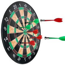 12/15/17Inch Professional Magnetic dart board with magnetic darts Indoor in Target soft Dart Board Game for Kids Adults training