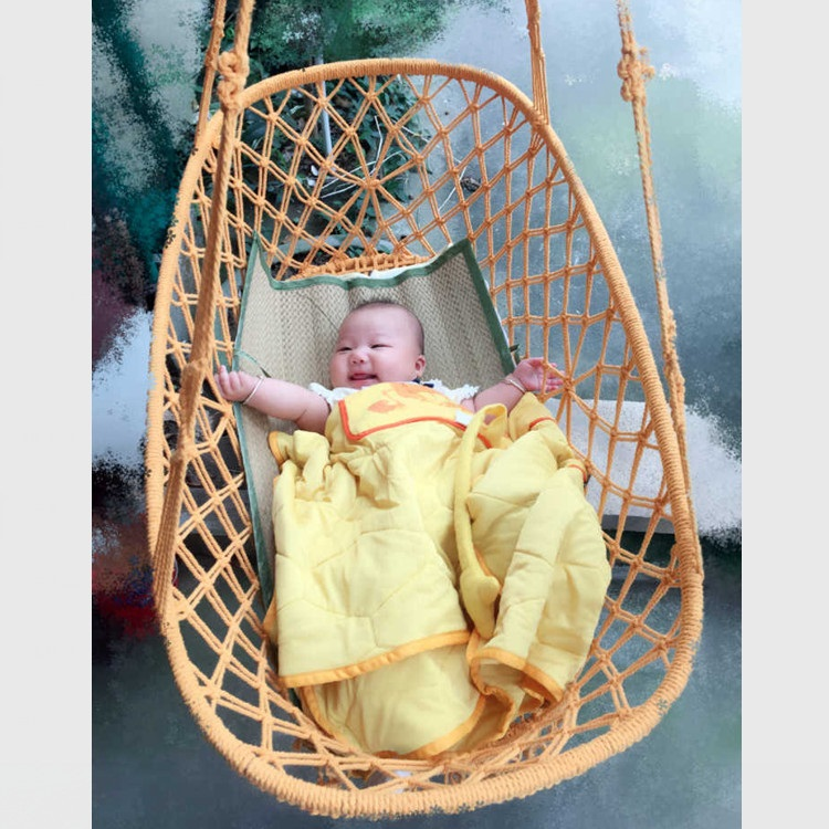 Crochet Baby Hammock Photography Props Newborn Costume Toddler Sleep Bed Outdoor aby cribs infant bed infant baby sleeping bed infant crochet baby costume photography props knitting baby hat bow newborn baby photo props baby boys cute outfits r2 16h