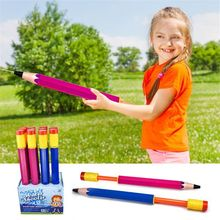OOTDTY 17 Jumbo Pencil Water Gun Soaker Shooter Pool Beach Pump Toy Summer Outdoor Kids