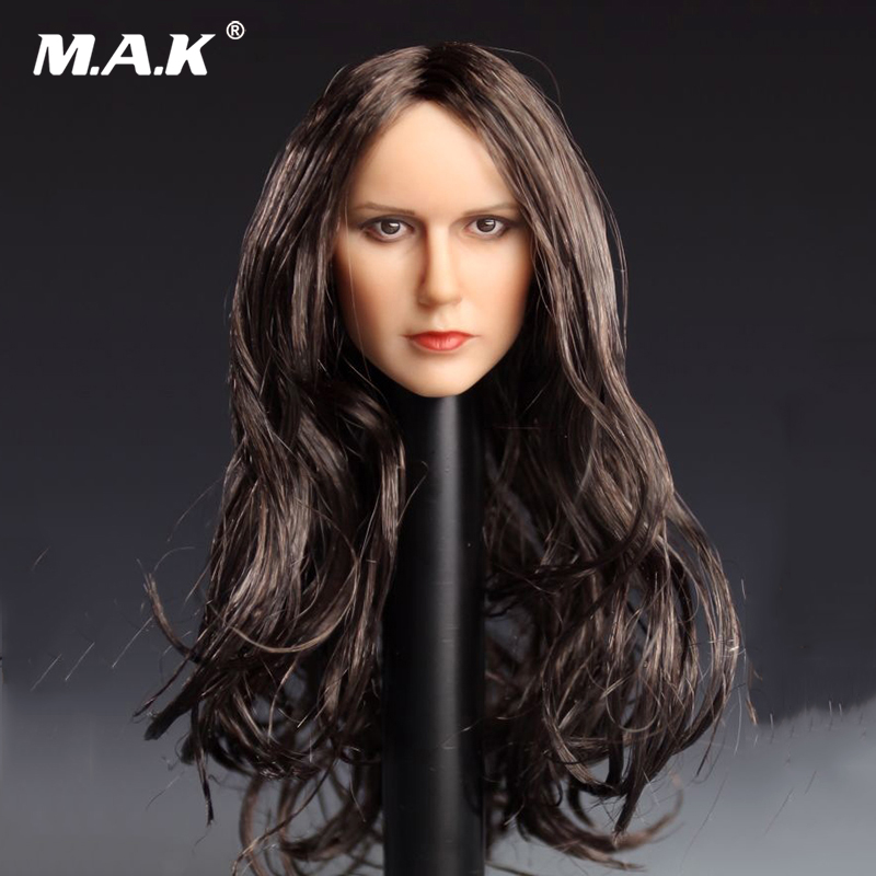 """YMTOYS YMT016 A 1//6 Scale Female Head Sculpt Fit for 12/"""" Action Figure"""