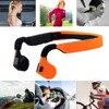Bluetooth 4 0 Wireless Headset Sports Bone Conduction Earphone Headphone Ear Hook Stereo With Mic