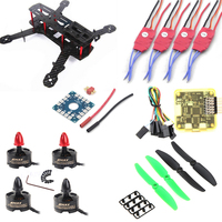 Mini 250 H250 Carbon Fiber Frame 1806 2280 Brushless Motor 12A ESC CC3D Control Board 5030 Propeller For QAV250 Quadcopter DIY