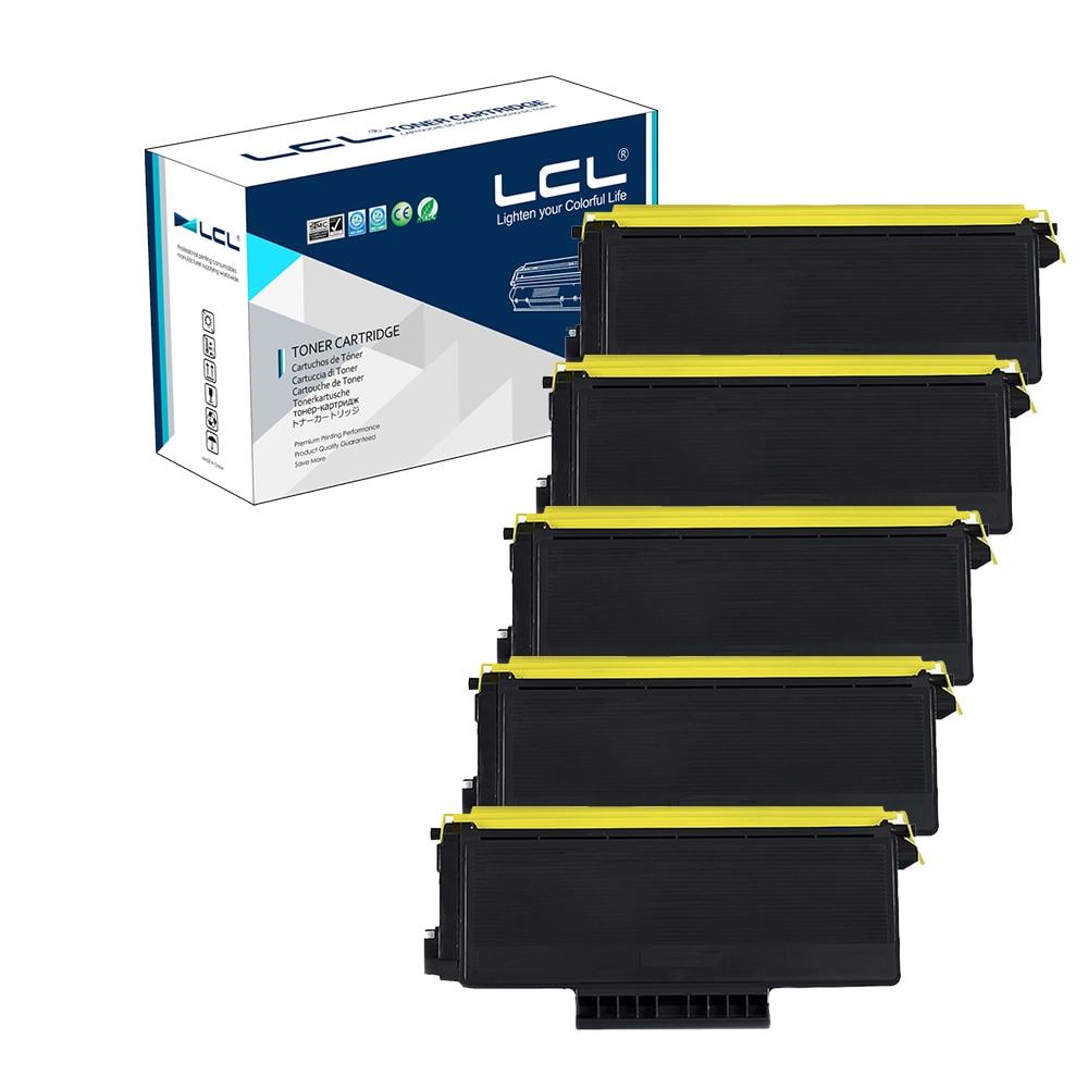 Подробнее о LCL TN3290 TN 3290 (5-Pack Black) Toner Cartridge Compatible for Brother HL-5340D/5350DN/5370DN/MFC-8370DN/8880/8890/DCP-8085DN compatible for brother dr580 dr620 image drum unit toner cartridge for brother hl5340 5370 dcp 8085 8880 printer