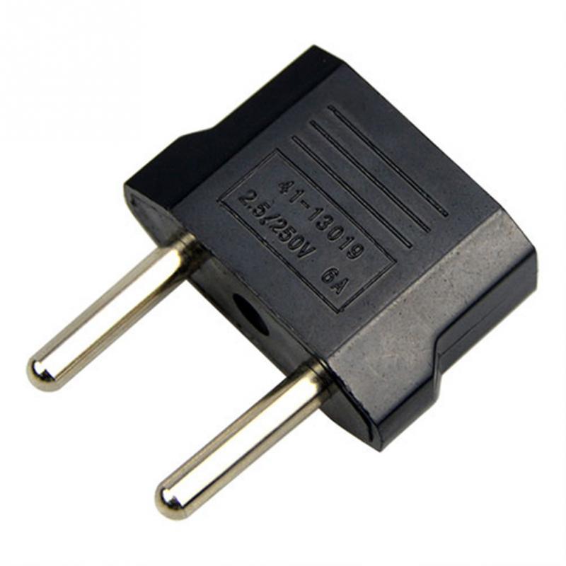 5Pc Durable US To EU  Power Plug Travel Converter Adapter Household Plugs