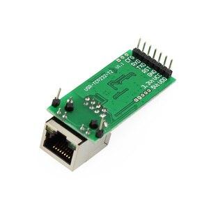 Image 2 - Q18042 USR TCP232 T2 초소형 직렬 이더넷 컨버터 모듈 직렬 UART TTL 이더넷 TCPIP 모듈 지원 DHCP 및 DNS