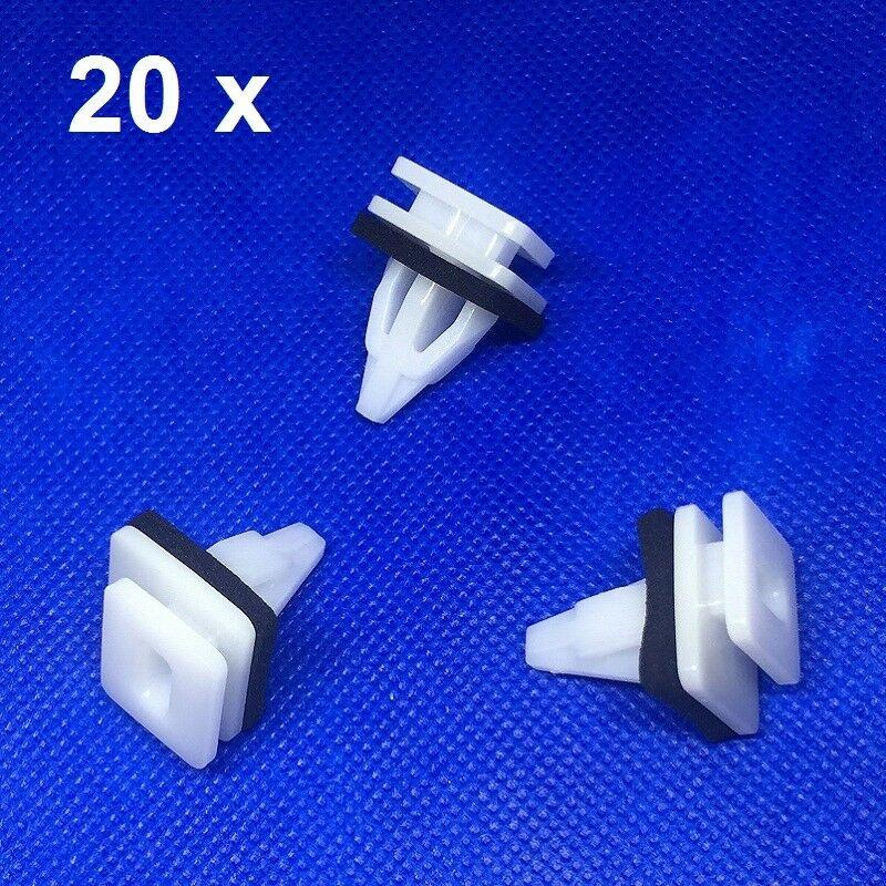 Door Moulding Body Panel Trim Clips X 10 Pieces Peugeot 407