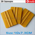 10pcs vinyl wrap tool 3M gold squeegee  with size 10x7.3cm Car Wrap Installing kits A01G