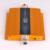 Pantalla LCD Mini W CDMA 3G 2100 MHz Móvil Señales Booster Repeater Con Cable Yagi Antena Set