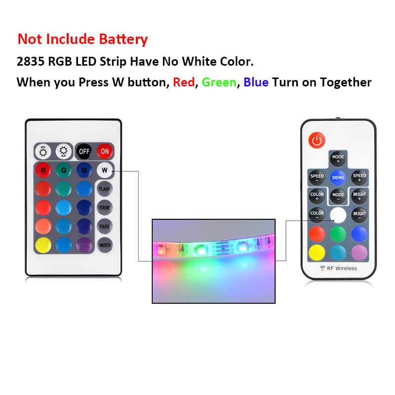 Светодиодный светильник 5 в USB светодиодный светильник 2835 SMD RGB ТВ Настольный ПК экран подсветка Декор гардероб кухонное освещение