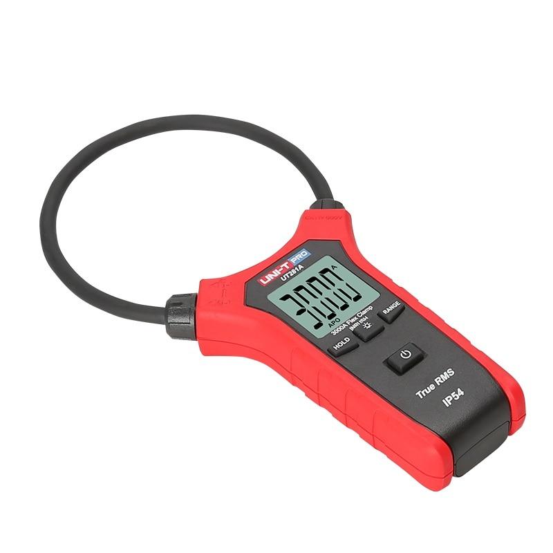 UNI-T UT281A Smart AC 3000A Digital Flexible Clamp Meter Multimeter Handheld Voltage Current clamp Resistance Frequency tester uni t ut281a smart ac digital flexible clamp meter multimeter handheld voltage current resistance frequency tester