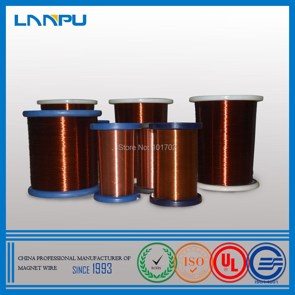 Factory Price Polyurethane Class 155 Self Binding Magnet Copper Wire ...