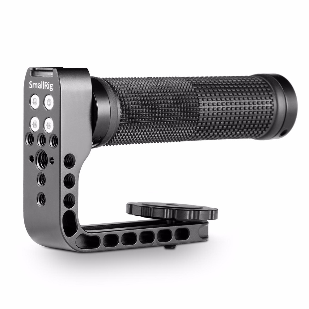 SmallRig Camera Top Hand Grip Long Lens Carry Handle Camera Cage Soft Rubber Handle Grip-1701 hand held rubber floaty grip