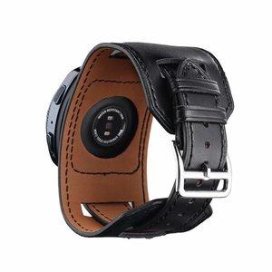 Image 3 - 22mm 20mm 정품 가죽 시계 밴드 커프 스트랩 팔찌 삼성 기어 S3 기어 S2 화웨이 시계 2 Huami AMAZFIT Watchband sams