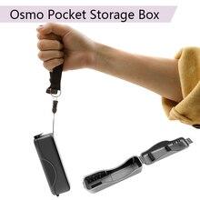 DJI Osmo карманный портативный водонепроницаемый корпус стабильная коробка для хранения Жесткий корпус Мини Защитная сумка ручной карданный камеры аксессуары