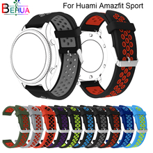High Quality Silicone Strap Millet Amazfit Bip BIT PACE Lite Youth Smart Strap for Huami Xiaomi Amazfit Youth Bracelet band [free strap] 2018 xiaomi huami amazfit smart watch youth edition bip bit pace lite 32g ultra light screen 1 28 waterproof gps