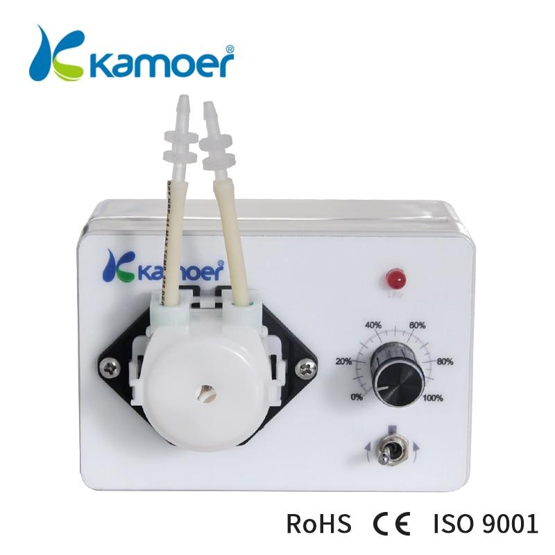 Kamoer KCP3 24V small peristaltic pump mini water pump liquid filling machine food grade small volume peristaltic pump intelligent numerical control liquid filling machine gr1 6b