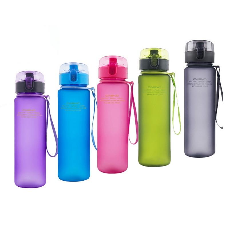 Hifuar 400ml 560ml Sports Water Bottle High Quality BPA Free Leak Proof Tour Hiking Portable Drinware Kitchen Bottles For Water