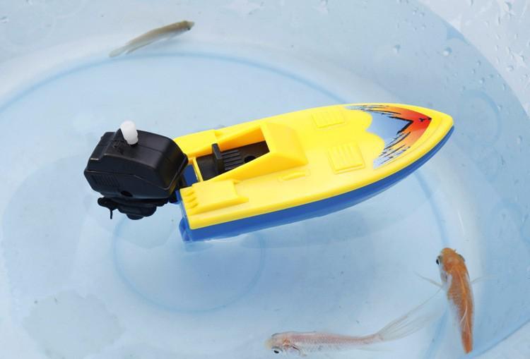 LeadingStar имитировать надувные Заводной лодка корабль детские плавательные игрушки для купания для Ванная комната Пляж Бассейн zk25