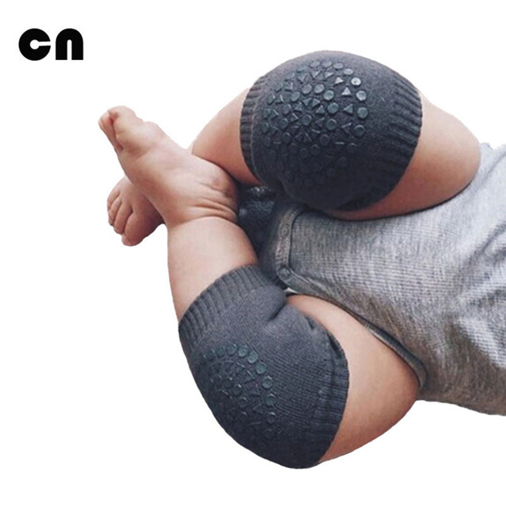 CN Baby Clothing Accessories Baby Crawling Anti-skid Keep Warm Knee Protective Cover Toddler Learn To Socks Baby Leg Pad Kids