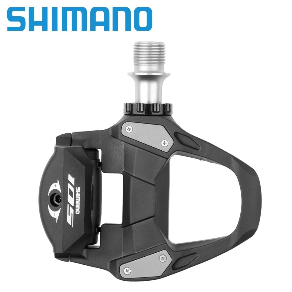 Composants de pédales SPD à verrouillage automatique SHIMANO 105 PD 5800/R7000 utilisés pour les pièces de vélo de route