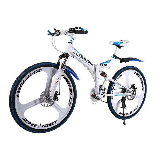 Altruism X6 21 Скорость Стали Горный Велосипед Bicicleta 26 Складной Велосипед Велосипеды Bicicletas Мужская Горные Велосипеды